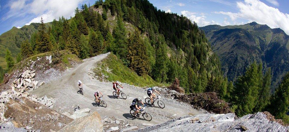 mountainbiken kaprun