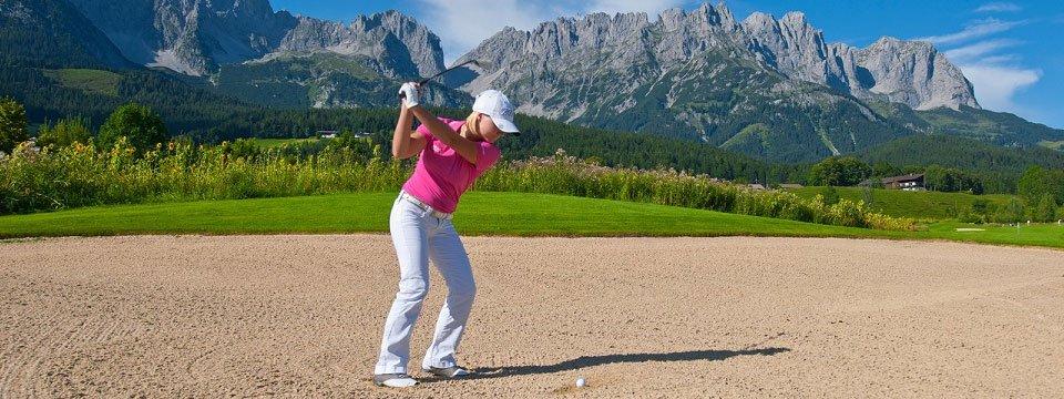 golfen golfcourse wilder kaiser ellmau