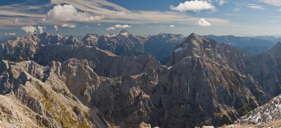uitzicht mangart bovec slovenie