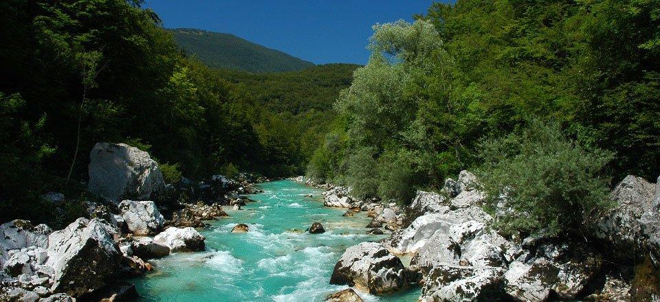 soca river bovec slovenie