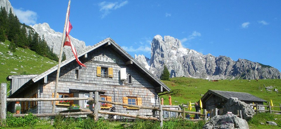 stuhlalm am austriaweg annaberg im lammertal