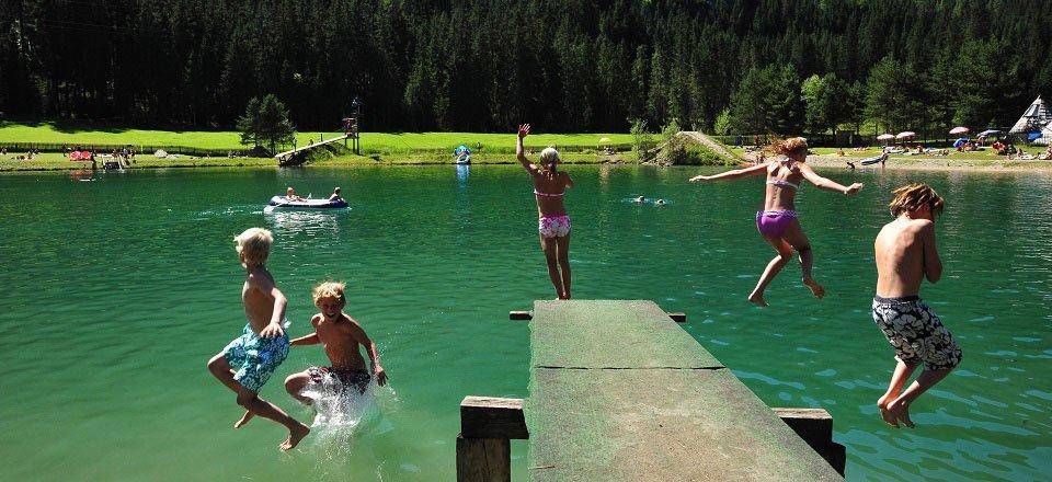 badesee flachau winkl by flachau tourismus