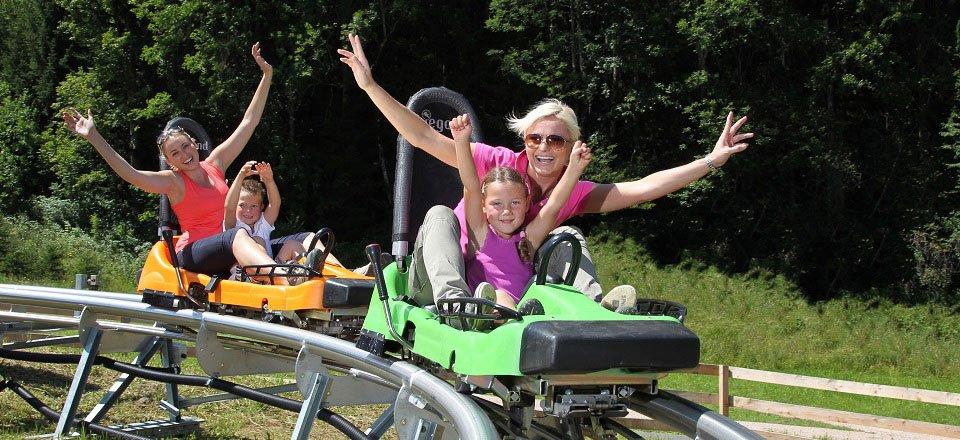 rodelbaan alpine coaster flachau eenouder by flachau tourismus