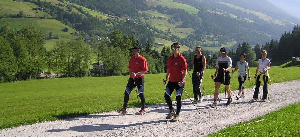 nordic walking tvb wald konigsleiten
