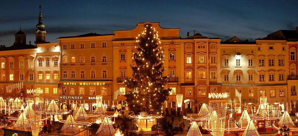 kerstmarkt chriskindlmarkt linz tourismus