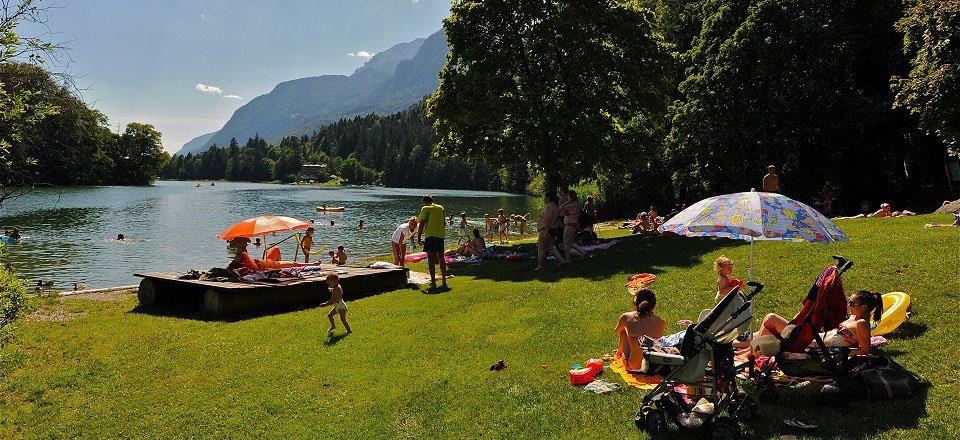 reintalersee kramsach alpbachtal seenland tourismus