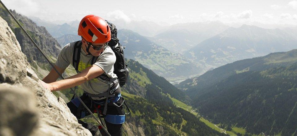 rotsklimmen klettersteigen montafon sankt gallenkirch montafon tourismus