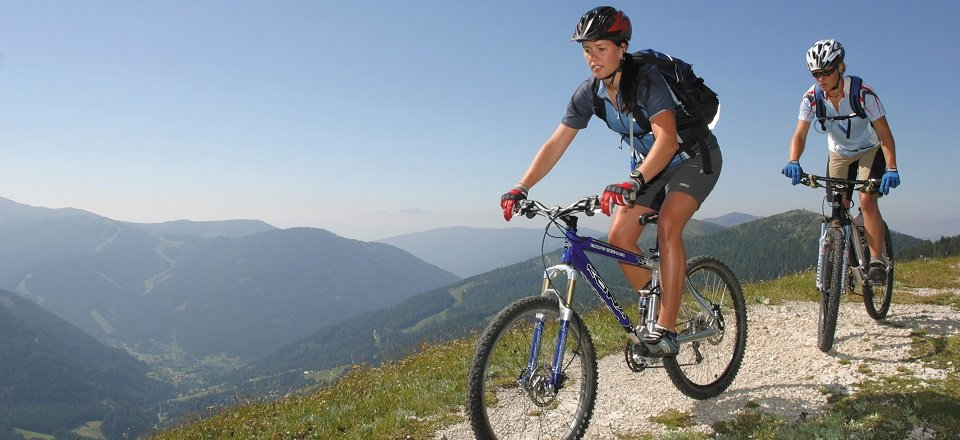 mountainbiken bad kleinkirchheim tourismus
