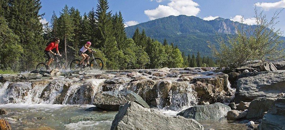 mountainbiken hermagor pressegger see