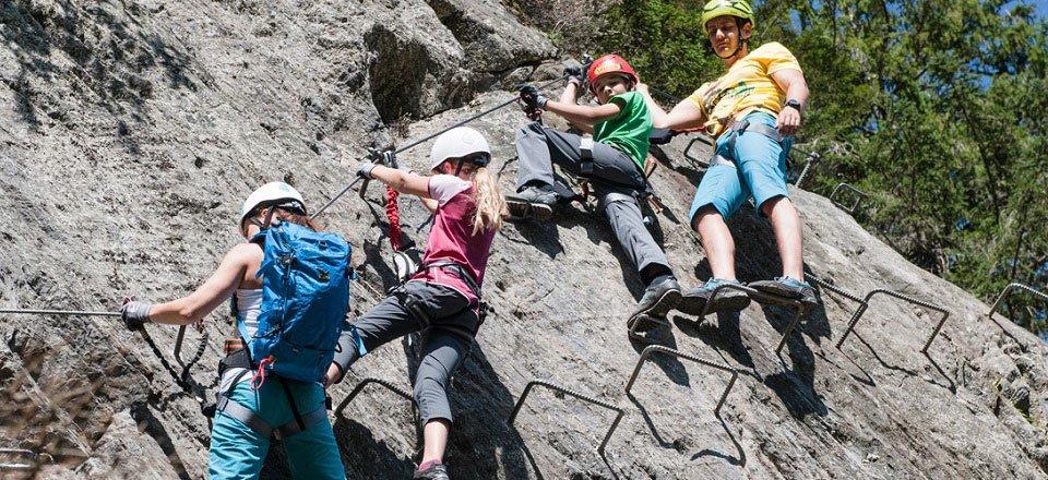 rotsklimmen klettersteigen zell am ziller zillertal