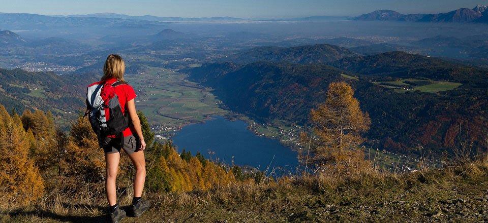 alpe adria trail gerlitzen alpe kaerntenwerbung franz gerdl