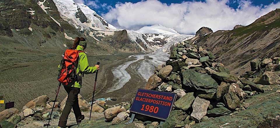 alpe adria trail pasterze grossglockner oostenrijk