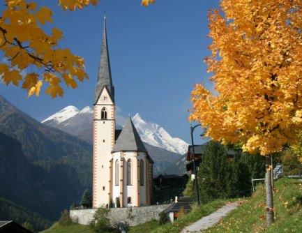 alpe adria trail grossglockner trail bedevaartskerkje heiligenblut