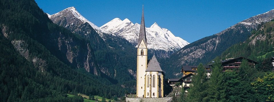 alpe adria trail grossglockner trail heiligenblut kaernten werbung