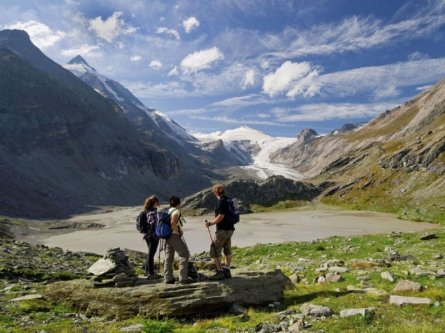 alpe adria trail start grossglockner trail opyrights hohe tauern national park