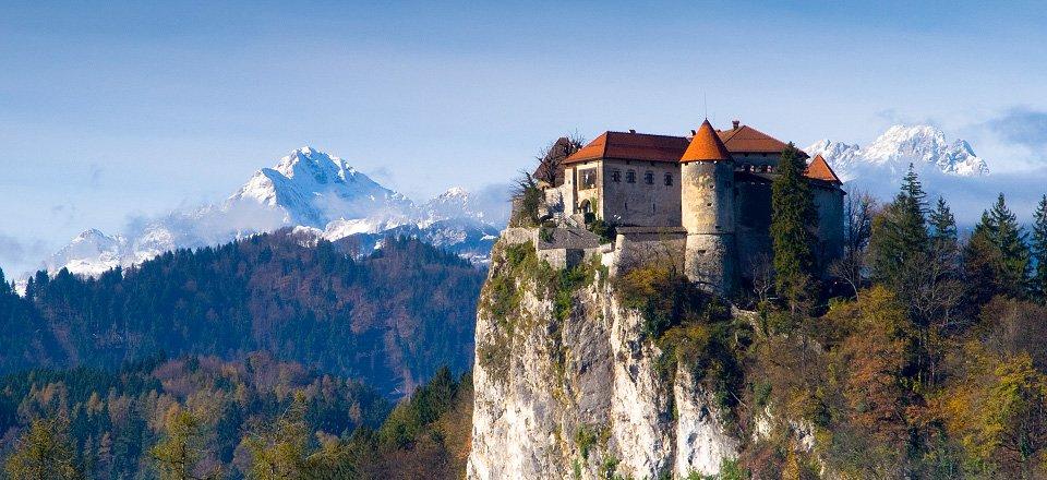 kasteel herfst bled tourismus