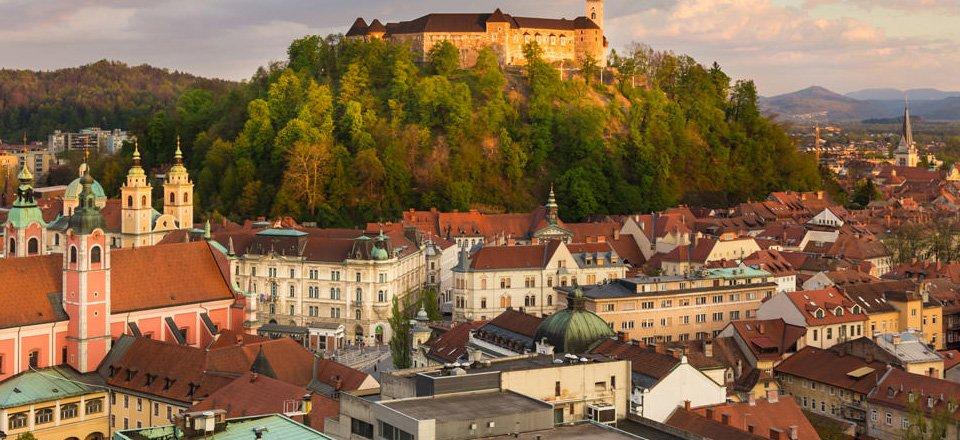 region of central slovenia ljubljana slovenie
