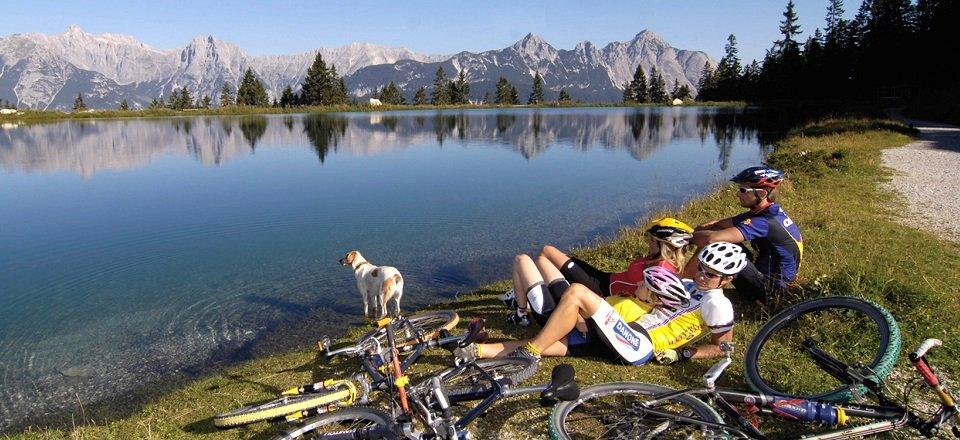 mountainbiken leutasch tvb olympiaregion seefeld