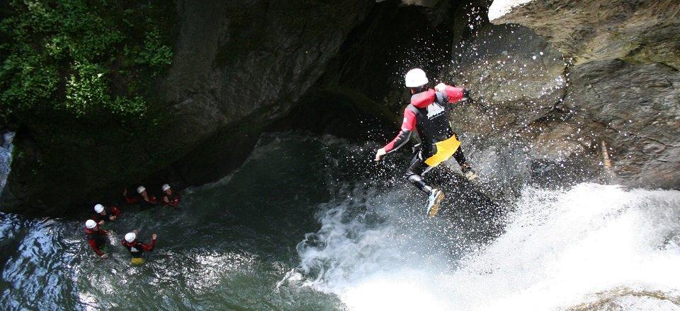 oetz canyoning