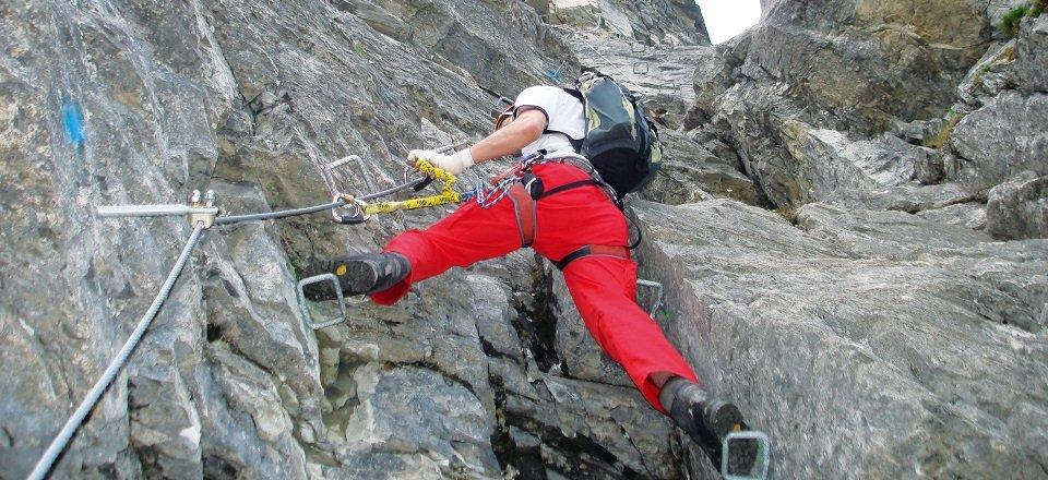 gerlos klettersteig gerlossteinwand