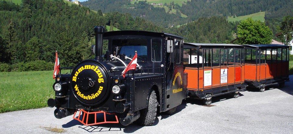 trein bummelzug oberau wildschönau tourismus