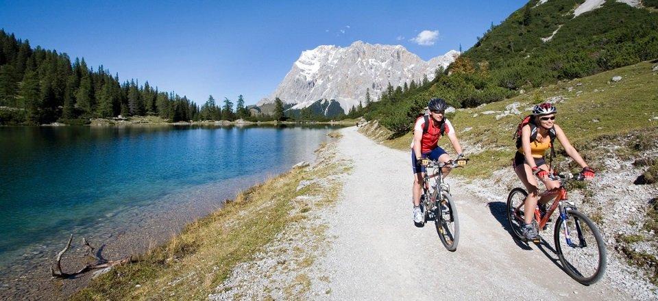 mountainbiken lermoos tvb tiroler zugspitz arena