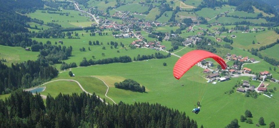 paragliding niederau wildschonau