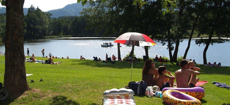 zwemmen meer feldkirchen tvb feldkirchen by fritz