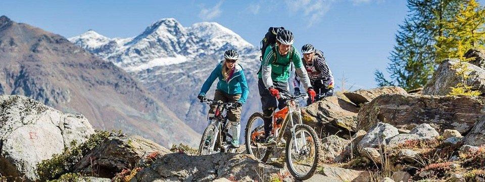 mountainbiken area47 oetz oostenrijk