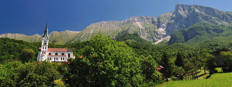 alpe adria trail dreznica slovenie