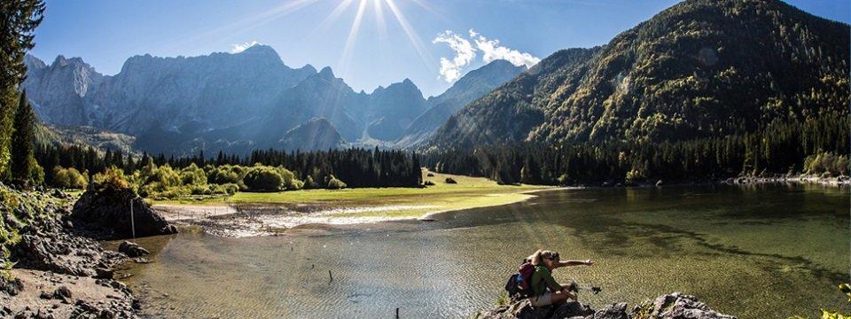 alpe adria trail weissenfelser  seen trovati