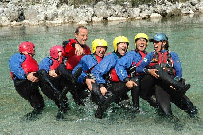 groepsreis teambuilding outdoor slovenie