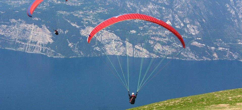 paragliden gardameer