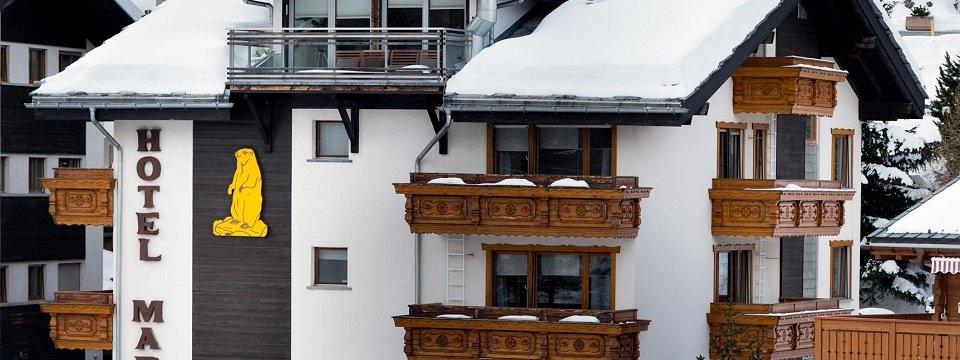 hotel marmotte saas fee