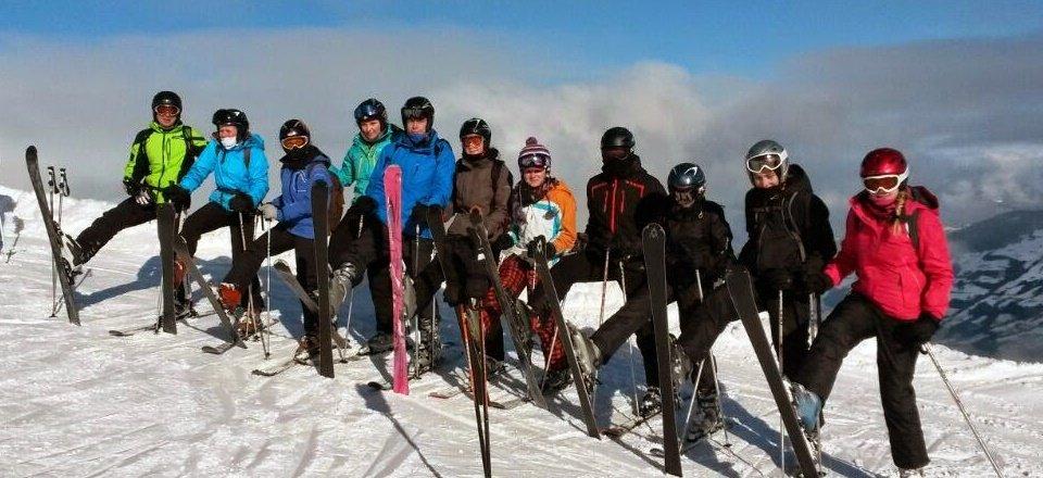 groepsreis ski vakantie groep