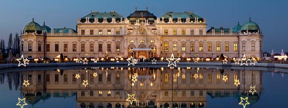 weihnachtsdorf schloss belvedere kerstmarkt wenen