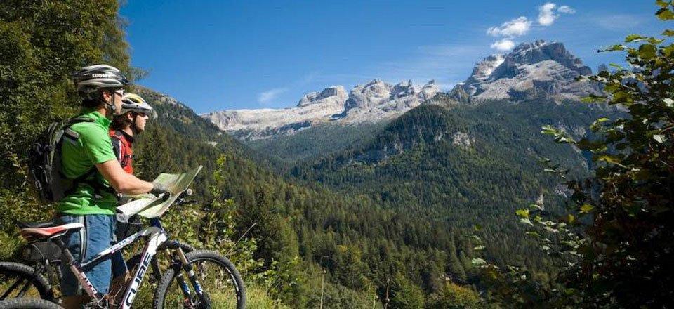 mountainbiken val di sole trentino zuid tirol italie
