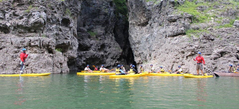 santa giustina kloof canyon rio novella val di sole trentino zuid tirol italie