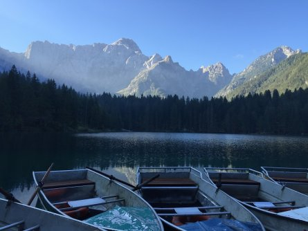 alpe adria trail 3 laghi fusine
