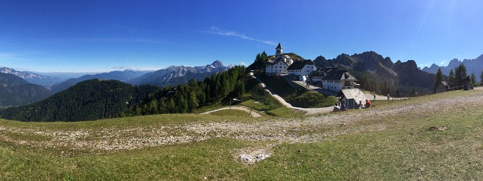alpe adria trail monte lusardi circular tour