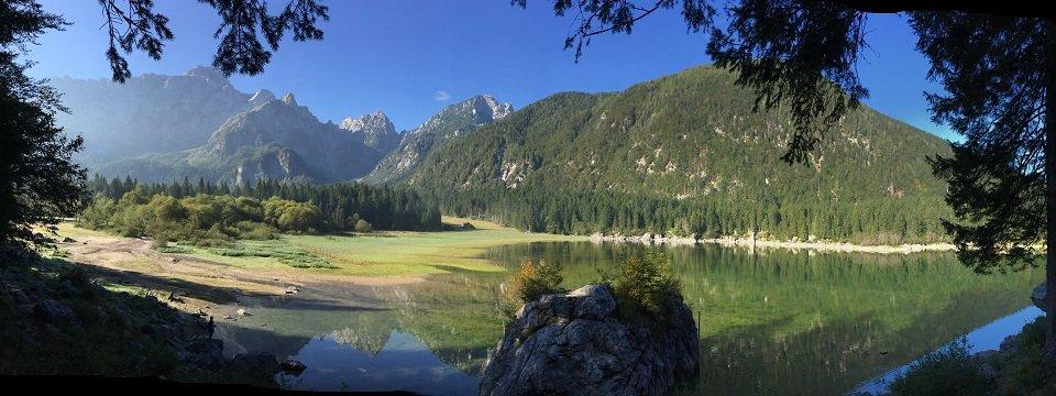 alpe adria trail 3 laghi fusine circular tour