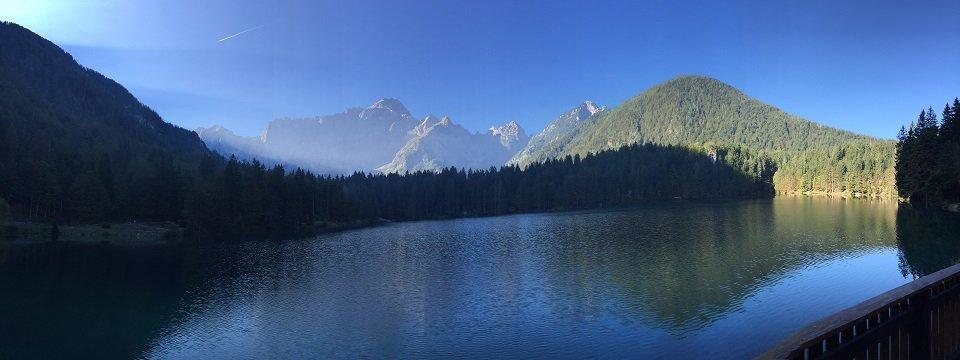 alpe adria trail 3 laghi fusine tarvisio