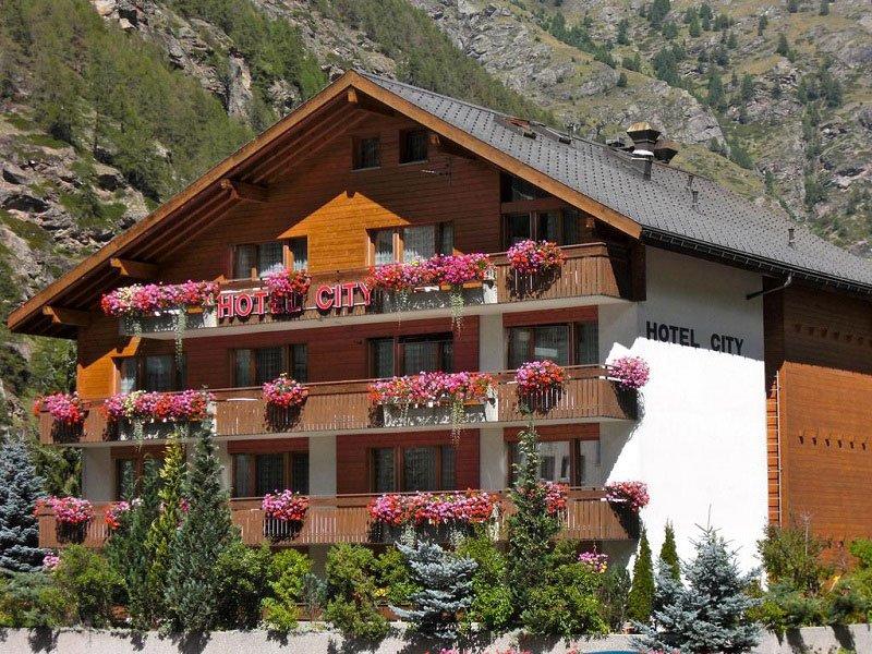 Vakantie Hotel City in Zermatt - Täsch (Wallis, Zwitserland)