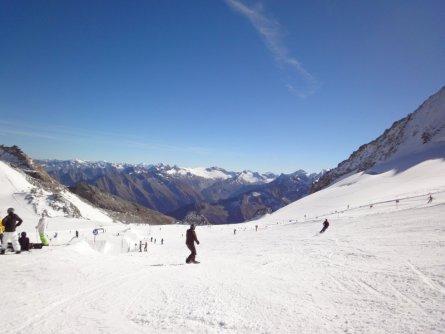 hintertuxer gletsjer zomerskien skien herfst