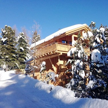 chalet turracher hohe turrach winter