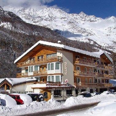 hotel eden saas fee saas grund wallis vakantie zwitersland zwitserse alpen wintersport