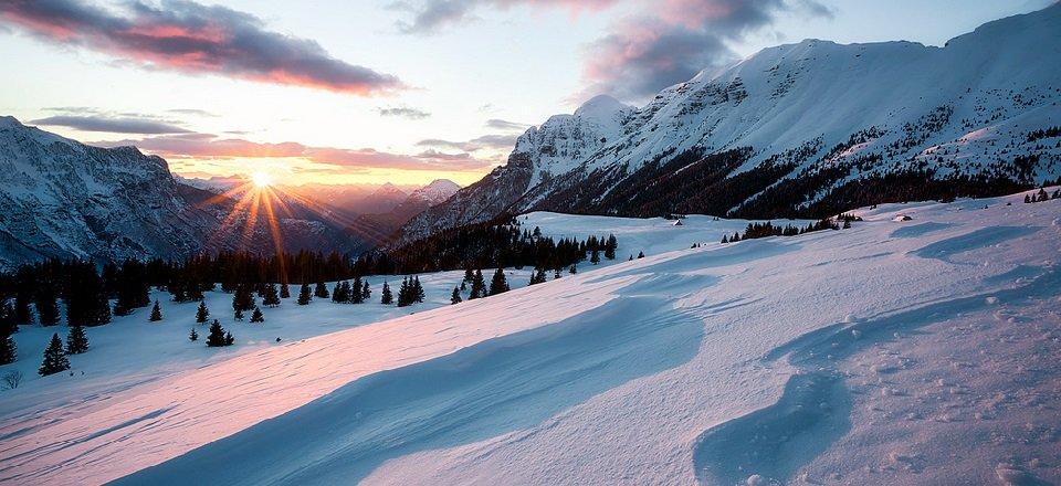 bovec goriska julische alpen slovenië wintersport