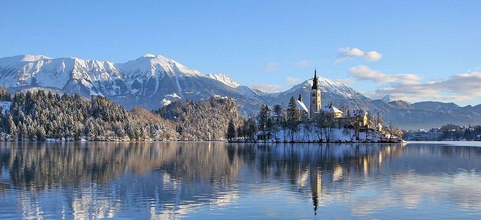 bled gorenjska julische alpen slovenië wintersport