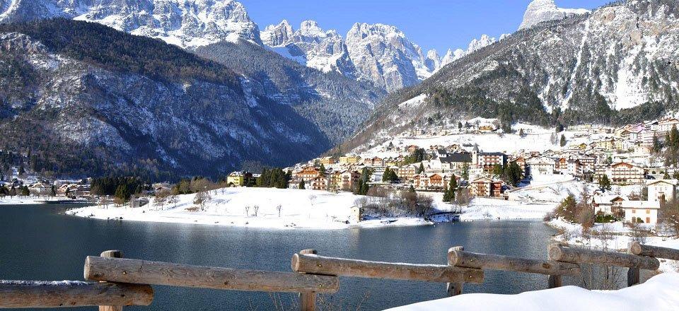 molveno trentino zuid tirol italiaanse alpen vakantie italie wintersport