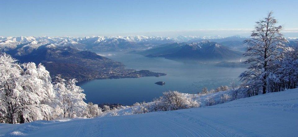 mottarone lago maggiore vakantie italië italiaanse alpen wintersport
